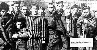 Auschwitz concentration camp 1945 liberaed by the Rad Army